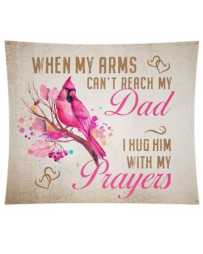 Hug with Prayers Wall Tapestry