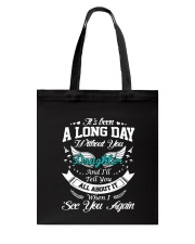 A Long Day Daughter Tote Bag thumbnail