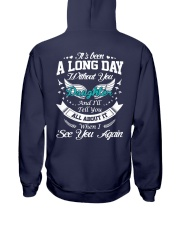 A Long Day Daughter Hooded Sweatshirt back
