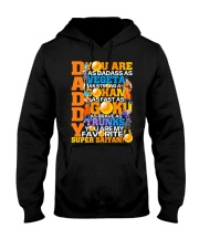 Daddy You Are As Badass As - Father's Day Hooded Sweatshirt thumbnail