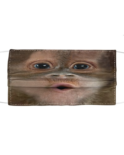Monkey Kiss Face Mask