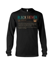 Black Father Noun -  Father Day T-shirt Gifts Long Sleeve Tee tile