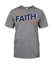 Keeping the Faith - Navy Blue Font Classic T-Shirt thumbnail