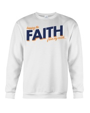 Keeping the Faith - Navy Blue Font Crewneck Sweatshirt thumbnail