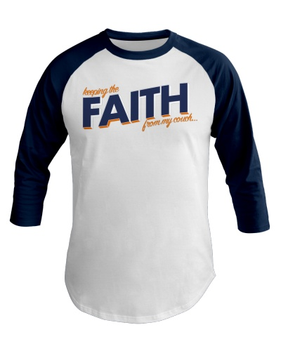 Keeping the Faith - Navy Blue Font