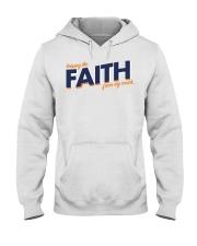 Keeping the Faith - Navy Blue Font Hooded Sweatshirt thumbnail