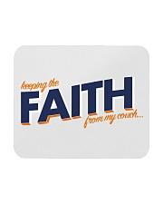 Keeping the Faith - Navy Blue Font Mousepad thumbnail