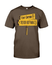 19 and 51 Street Sign Premium Fit Mens Tee thumbnail
