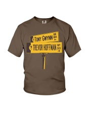 19 and 51 Street Sign Youth T-Shirt thumbnail