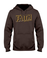 Keeping the Faith - Brown Font Hooded Sweatshirt thumbnail