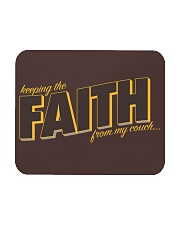 Keeping the Faith - Brown Font Mousepad tile