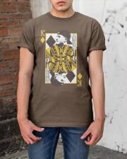 King Manny - Two Kings Classic T-Shirt apparel-classic-tshirt-lifestyle-31