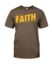 Keeping the Faith - Gold Font Classic T-Shirt thumbnail