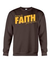 Keeping the Faith - Gold Font Crewneck Sweatshirt thumbnail
