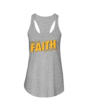 Keeping the Faith - Gold Font Ladies Flowy Tank thumbnail