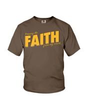 Keeping the Faith - Gold Font Youth T-Shirt thumbnail