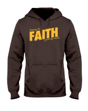 Keeping the Faith - Gold Font Hooded Sweatshirt thumbnail