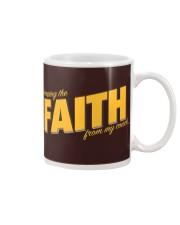 Keeping the Faith - Gold Font Mug thumbnail
