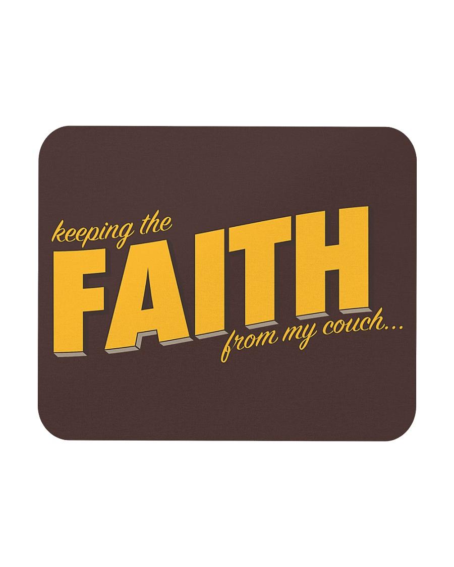 Keeping the Faith - Gold Font Mousepad