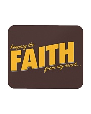 Keeping the Faith - Gold Font Mousepad front