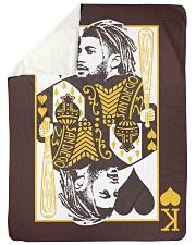 """King Fernando - Two Kings Large Sherpa Fleece Blanket - 60"""" x 80"""" thumbnail"""