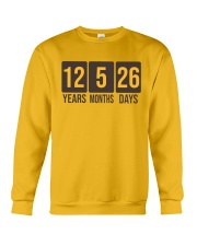 Still Hasn't Touched Home - YMD - Brown Font Crewneck Sweatshirt thumbnail