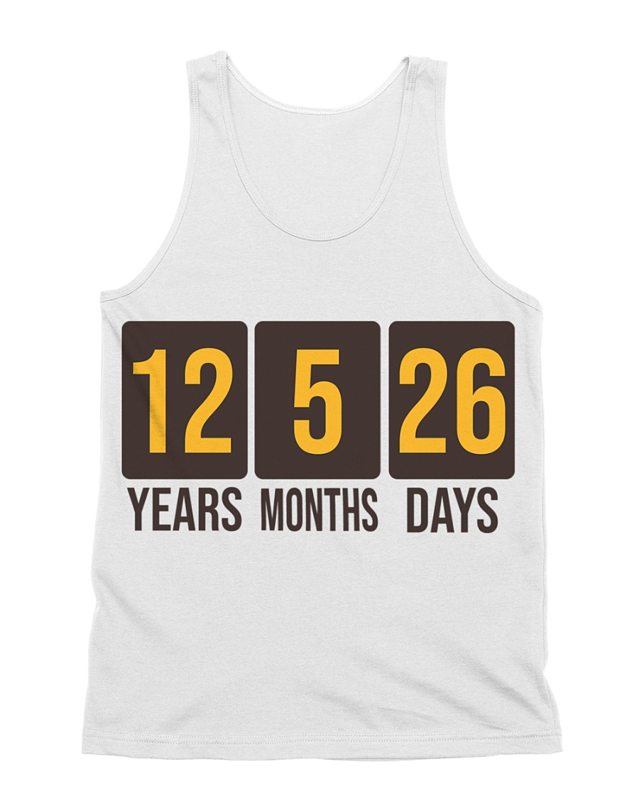 Still Hasn't Touched Home - YMD - Brown Font All-over Unisex Tank