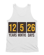 Still Hasn't Touched Home - YMD - Brown Font All-over Unisex Tank front
