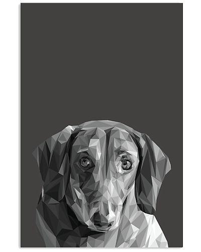 Dachshund Dog Portrait Print