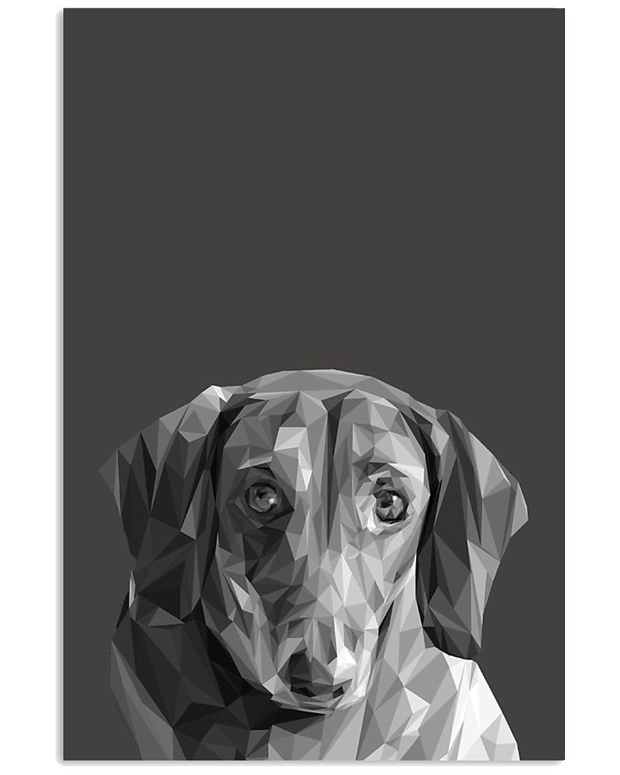 Dachshund Dog Portrait Print 11x17 Poster