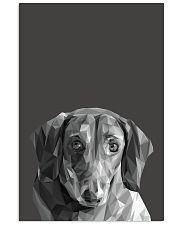 Dachshund Dog Portrait Print 11x17 Poster front