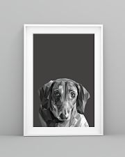Dachshund Dog Portrait Print 11x17 Poster lifestyle-poster-5