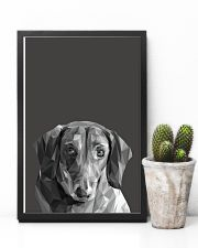 Dachshund Dog Portrait Print 11x17 Poster lifestyle-poster-8