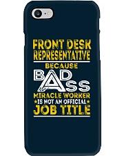 Front Desk Representative Phone Case thumbnail