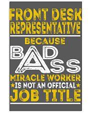 Front Desk Representative 11x17 Poster thumbnail