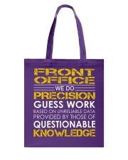 Front Office Tote Bag thumbnail