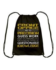 Front Office Drawstring Bag thumbnail