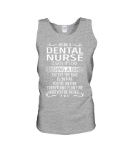 Dental Nurse Unisex Tank thumbnail
