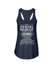 Dental Nurse Ladies Flowy Tank thumbnail