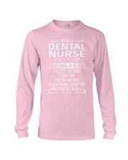 Dental Nurse Long Sleeve Tee thumbnail