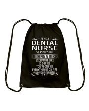 Dental Nurse Drawstring Bag thumbnail