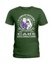 Cake Decorating Ladies T-Shirt thumbnail