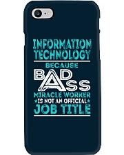 Information Technology Phone Case thumbnail