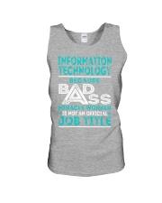 Information Technology Unisex Tank thumbnail