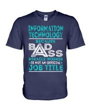 Information Technology V-Neck T-Shirt thumbnail