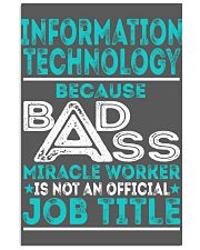 Information Technology 11x17 Poster thumbnail