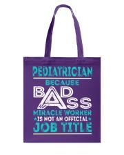 Pediatrician Tote Bag thumbnail
