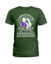 Forensic Scientist Ladies T-Shirt thumbnail