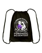 Forensic Scientist Drawstring Bag thumbnail