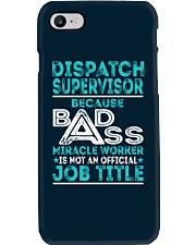 Dispatch Supervisor Phone Case thumbnail